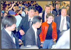 Daniel Radcliffe in Japan