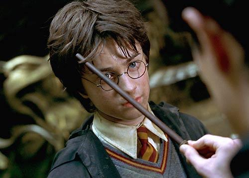 Kein Wunder, dass seine Haare so hochstehen, wenn Harry sie nie w�scht...