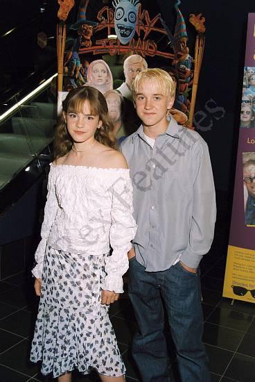 Emma Watson -Hermine- und Tom Felton -Draco- falls hier kein Bild ist, einmal hier klicken, danach sollte es gehen - und zumindest seht Ihr mit einem Klick hier das gew�nschte Bild