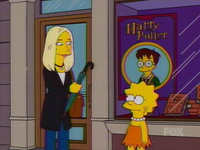 JK Rowling in der Simpsons Episode