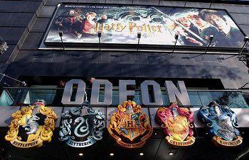 Das Odeon-Kino - Hier fand die Premiere statt